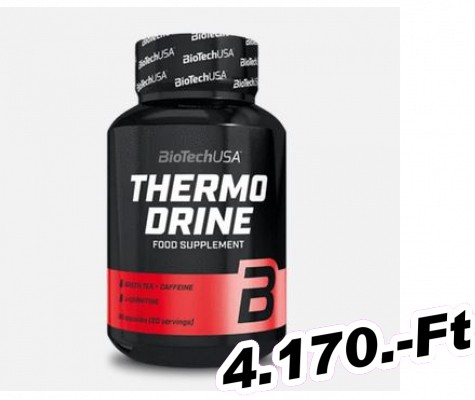BioTech USA Thermo Drine - 60 kapszula