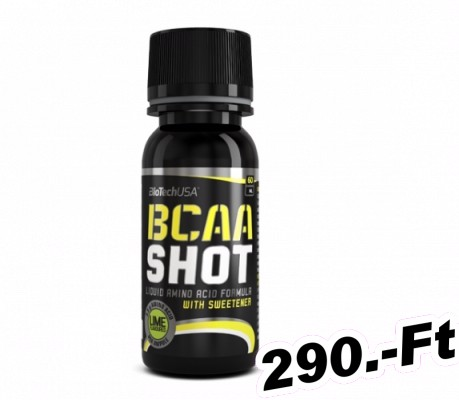 BioTech USA BCAA Shot lime - 60 ml