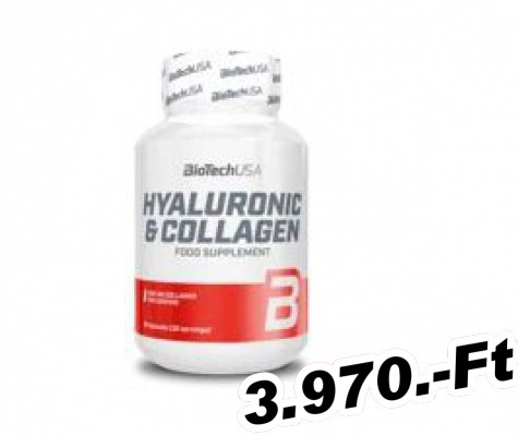 BioTech USA Hyaluronic & Collagen - 30 kapszula