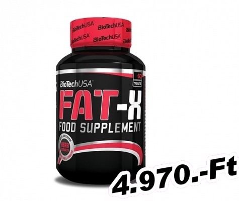 BioTech USA Fat - X 60 tabletta