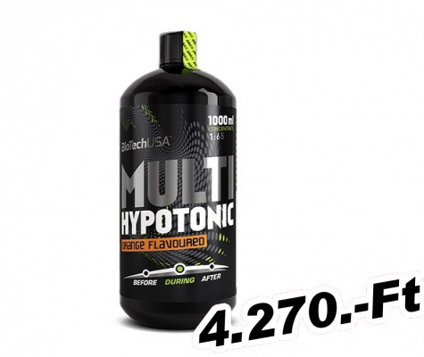 BioTech USA Multi Hypotonic Drink - 1 000 ml mojito