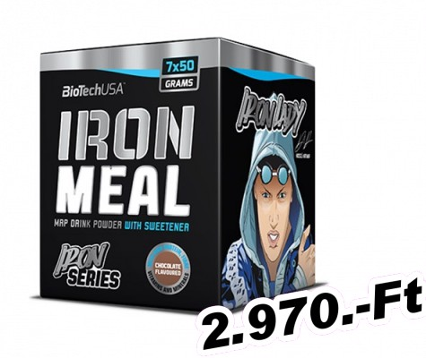 BioTech USA Iron Meal - 7x50 g eper
