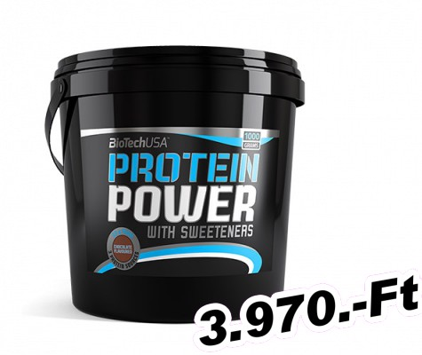 BioTech USA Protein Power - 1000 g vanília
