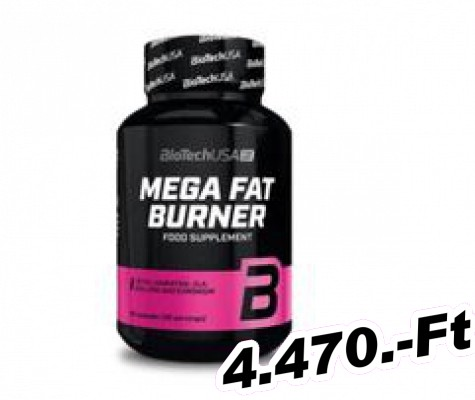 BioTech USA Mega Fat Burner 90 kapszula
