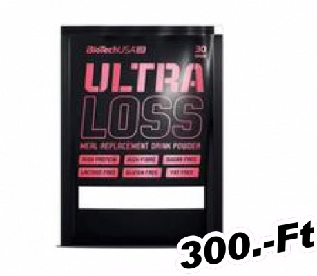 BioTech USA Ultra Loss 30 g mogyoró