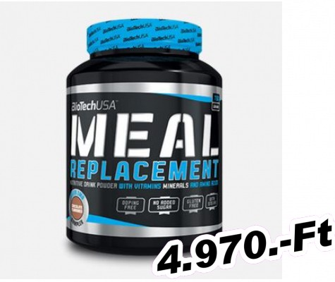 BioTech USA Meal Replacement - 750 g csokoládé