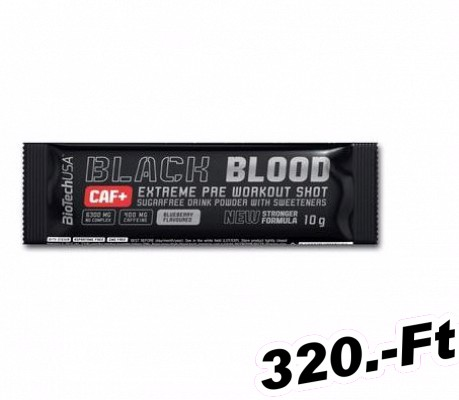 BioTech USA Black Blood CAF+ 10 g Áfonya
