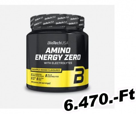 BioTech USA Amino Energy Zero with electrolytes 360 g Lime