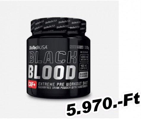 BioTech USA Black Blood NOX+ 330 g kóla