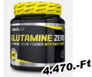 BioTech USA Glutamine Zero 300 g Barackos Ice Tea